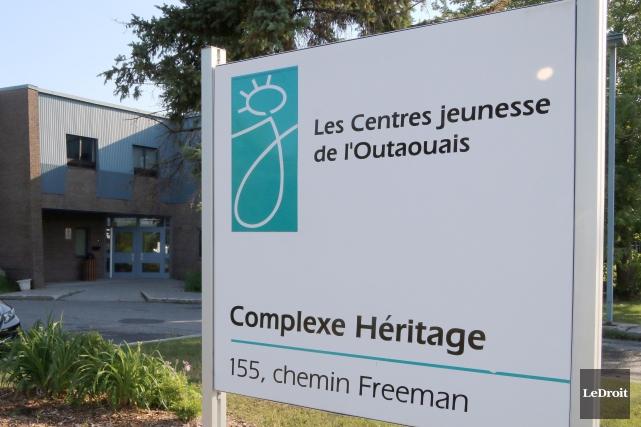 L'alarme a été tirée en septembre dans les Centres jeunesse de l'Outaouais... (Etienne Ranger, archives Le Droit)