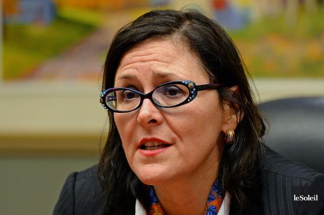 Diane Francoeur, présidente de la Fédération des médecins... (Photothèque Le Soleil, Patrice Laroche)