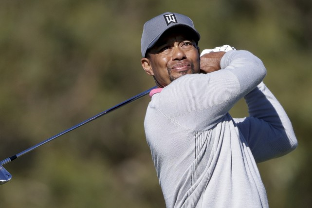 Tiger Woods a terminé à +4, à quatre... (Gregory Bull, Associated Press)
