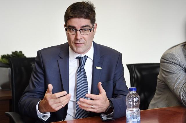 Gervais Jacques, directeur exécutif Rio Tinto Opérations -... (Archives Le Quotidien, Mariane L. St-Gelais)