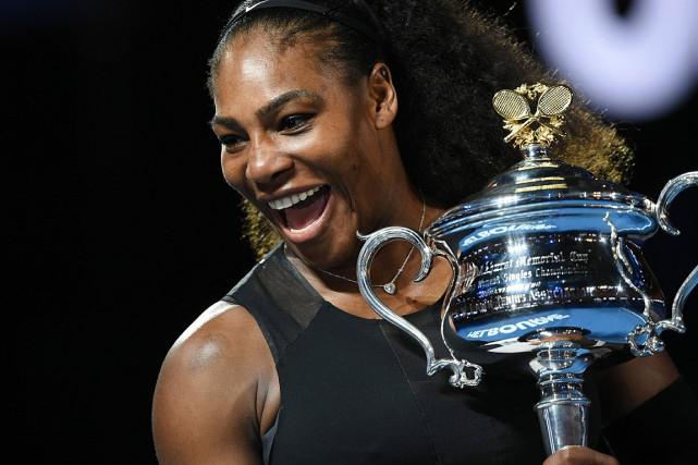 Serena Williams agagné le tournoi australien pour la... (PHOTO PAUL CROCK, AFP)