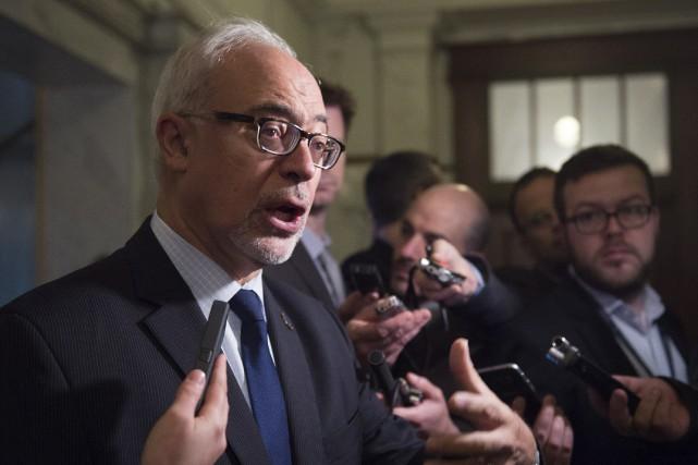 Le ministre des Finances du Québec, Carlos Leitão... (La Presse canadienne, Jacques Boissinot)