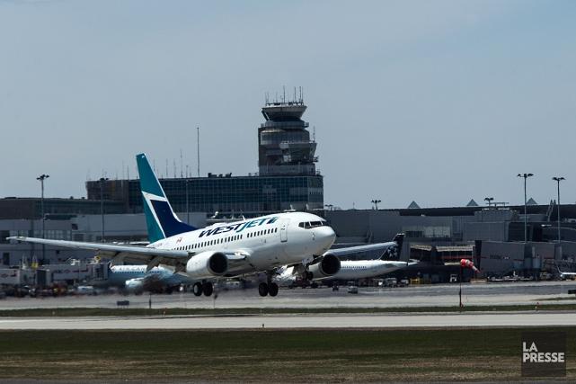 WestJet a dû refuser un passager à destination... (Archives La Presse)