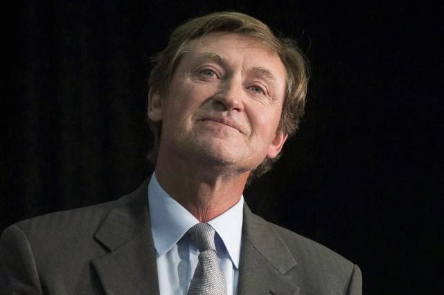 Wayne Gretzky sera l'entraîneur de la divisionmétropolitaine.... (Photo Chris Young, La Presse canadienne)