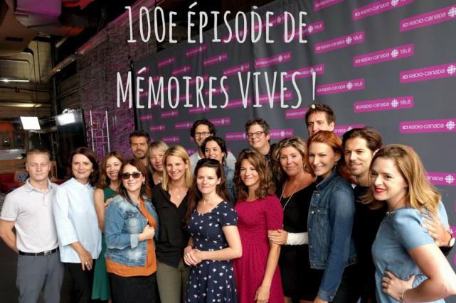 Au fil des 100 épisodes diffusés à ce... (Courtoisie, Radio-Canada)