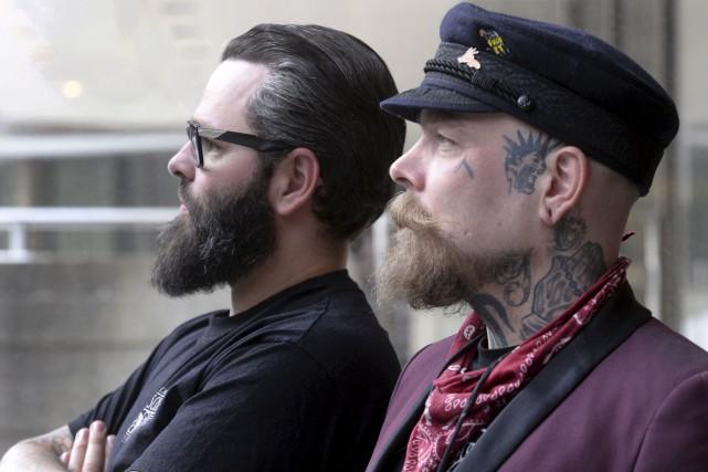 La popularité des barbiers Schorem est telle que... (Le Soleil, Jean-Marie Villeneuve)