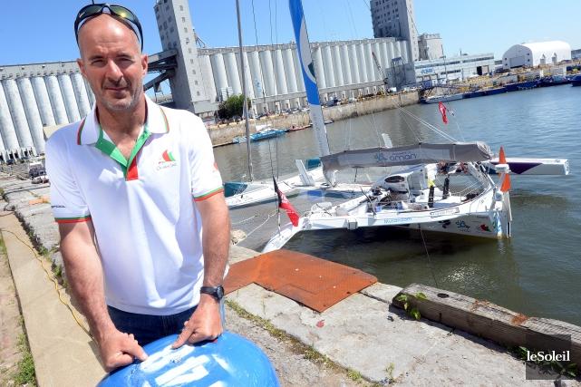Le navigateur Damian Foxall travaille avec la Fédération... (Photothèque Le Soleil, Erick Labbé)