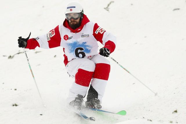 Sixième à Calgary samedi, Philippe Marquis était satisfait... (La Presse canadienne, Todd Korol)