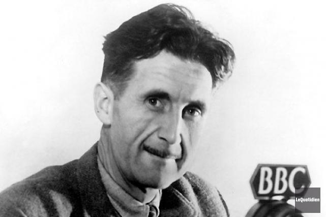 George Orwell, auteur de 1984... (Archives Le Quotidien)