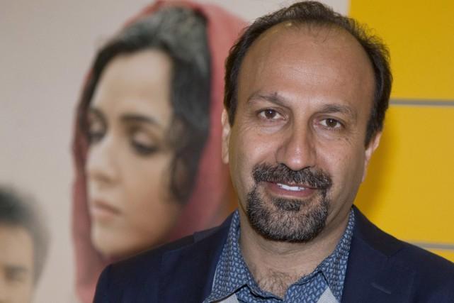Le réalisateur Asghar Farhadi... (AP, Michel Euler)