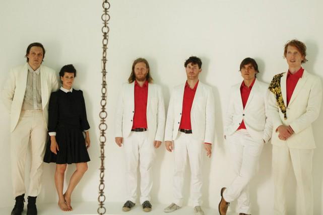 Arcade Fire: Win Butler, Régine Chassagne, Tim Kingsbury,... (fournie par Universal Music)