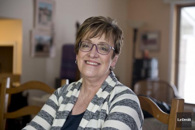 Andrée Tremblay a créé la Fondation Lani avec... (Martin Roy, Le Droit)