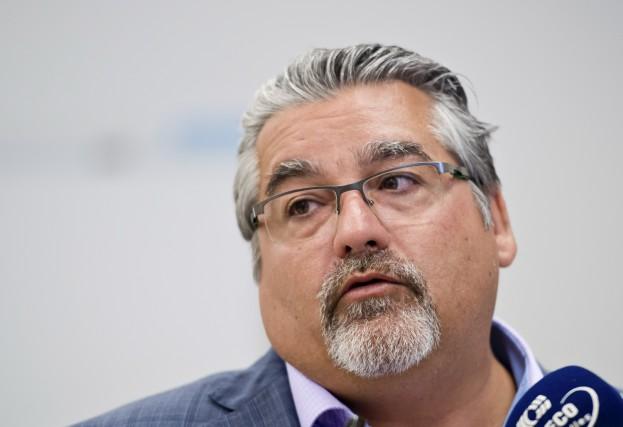Denis Beaudin, président du Conseil central des syndicats... (Spectre Média, Jessica Garneau)