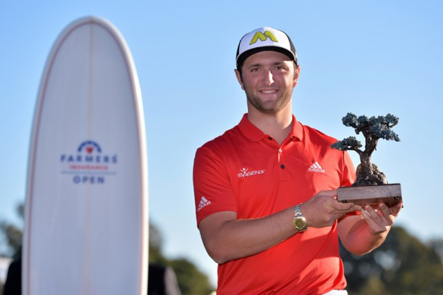Jon Rahm... (PHOTO REUTERS)