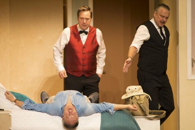 L'une des célèbres comédies de Francis Veber était présentée à la salle... (Olivier Croteau)