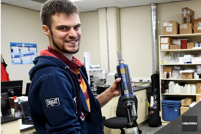 Étudiant au doctorat en biologie à l'Université du... (Photo Le Quotidien, Rocket Lavoie)