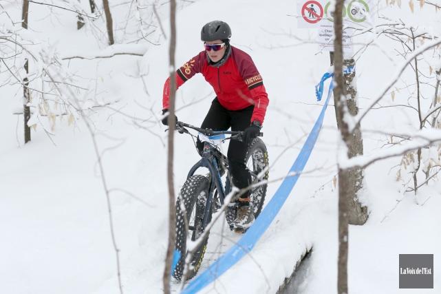 Dimanche, les championnats québécois prenaient la forme d'une... (Julie Catudal, La Voix de l'Est)