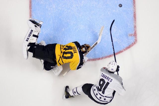 John Tavares aimerait une chance de retourner aux... (AP)