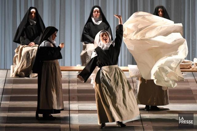 L'Opéra de Montréal présente Dialogues des carmélites, de... (PHOTO BERNARD BRAULT, LA PRESSE)
