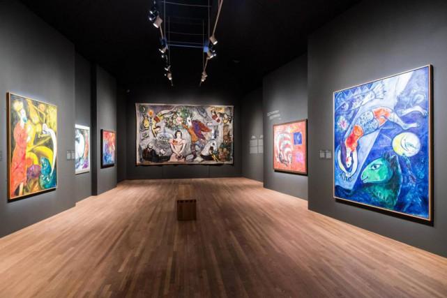 Artiste multidisciplinaire et hors des modes, Marc Chagall... (Photo Edouard Plante-Fréchette, La Presse)