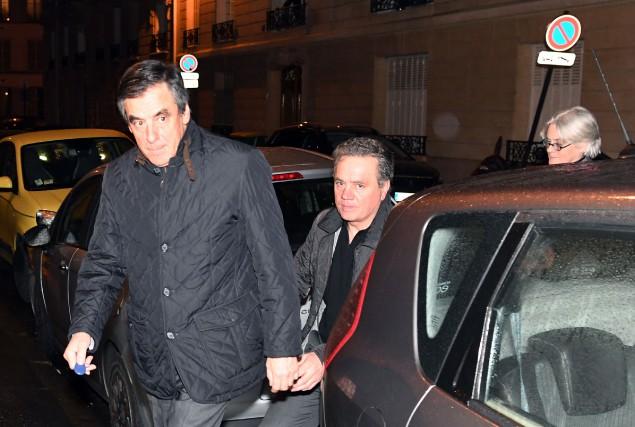 Le candidat de droite à la présidentielle française... (Photo Alain Jocard, AFP)