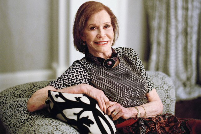 Mary Tyler Moore en 2011.... (PHOTO ARCHIVES THE NEW YORK TIMES)