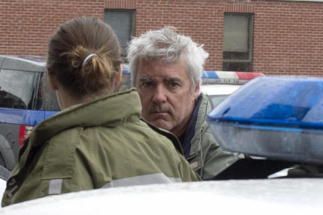 Le procès d'Yves Julien a débuté lundi. On... (Sylvain Mayer, Le Nouvelliste)