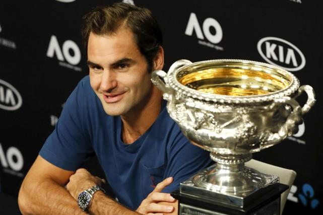 Roger Federer est de retour dans le top... (Associated Press)