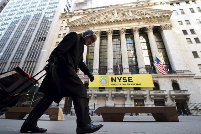 Alors que la Bourse avait salué la semaine... (AFP, Timothy A. Clary)