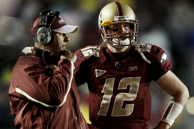 Le quart-arrière des Falcons d'Atlanta, Matt Ryan, a... (AP)