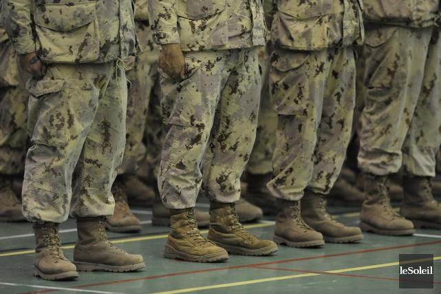 Des militaires se sont rendus au Nouveau-Brunswick pour... (archives Le Soleil)