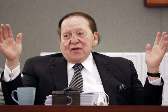 Sheldon Adelson... (PHOTO AP)