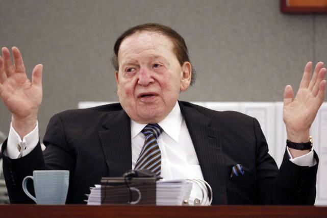 Sheldon Adelson... (PHOTO AP)