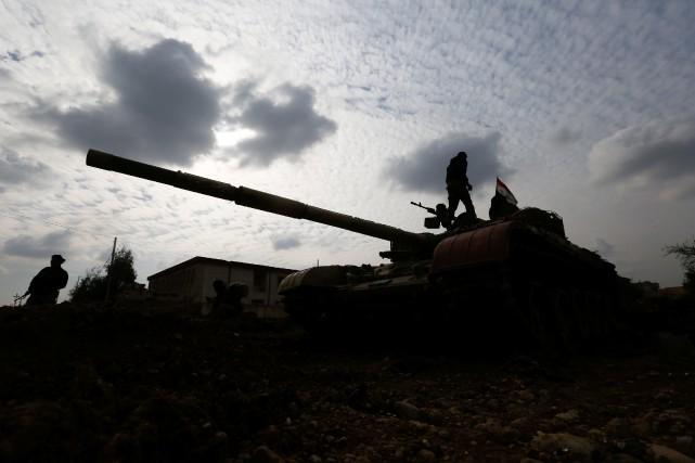 «Les Forces démocratiques syriennes (FDS) ont reçu pour... (PHOTO ARCHIVES REUTERS)