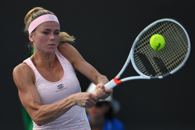 Camila Giorgi... (Photo Saeed Khan, AFP)