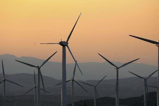 Les sources d'énergie renouvelable représentaient 16,7% de l'énergie consommée... (Photo David McNew, archives Getty Images)