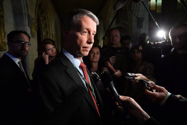 Le secrétaire parlementaire nommé par Justin Trudeau, Andrew... (Adrian Wyld, archives PC)