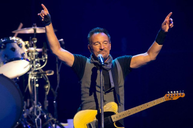 Bruce Springsteen a de nouveau rallongé sa série... (Photo BERTRAND GUAY, archives Agence France-Presse)