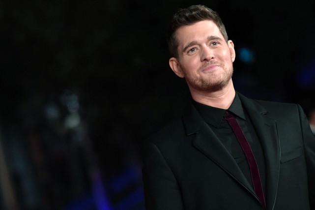 Michael Bublé a annulé sa participation à la cérémonie des Brit Awards, qu'il... (PHOTO ARCHIVES AFP)