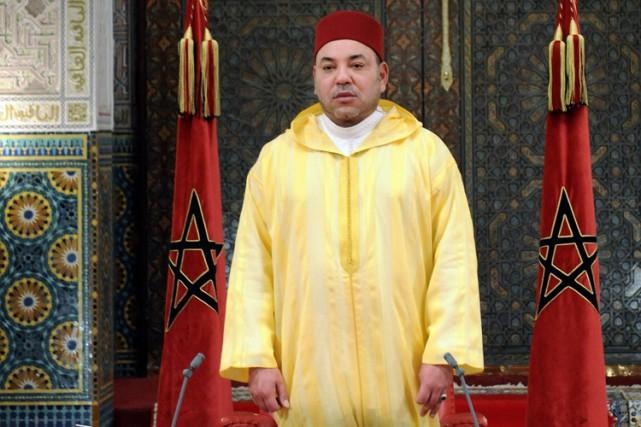 Le roi Mohammed VI du Maroc.... (PHOTO AFP)