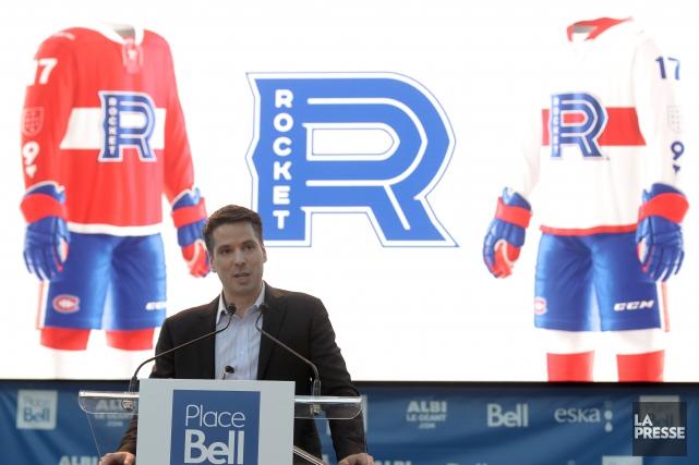 Le président de la Place Bell de Laval,... (Bernard Brault, La Presse)