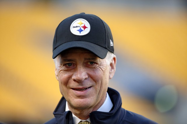 Le président des Steelers de Pittsburgh, Art Rooney... (Photo Gene Puskar, archives AP)