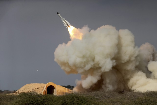 Les missiles iraniens «ne sont pas conçus pour... (PHOTO AP)