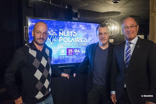 Le lancement de la programmation des Nuits polaires... (Stéphane Lessard, Le Nouvelliste)