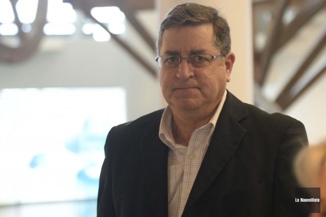 L'ancien directeur des équipements de l'UQTR, Alain Fournier.... (Sylvain Mayer, Le Nouvelliste)