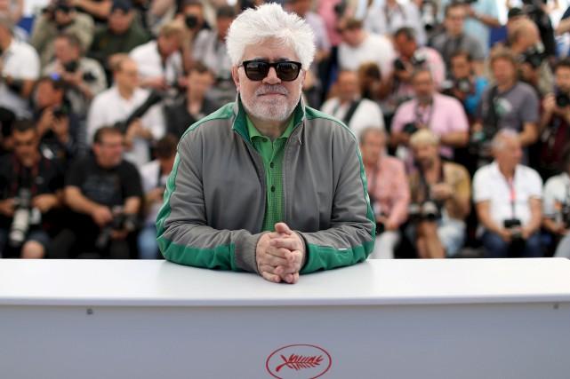 Pedro Almodovar, qui présidera le 70e Festival de... (AFP, Valéry Haché)
