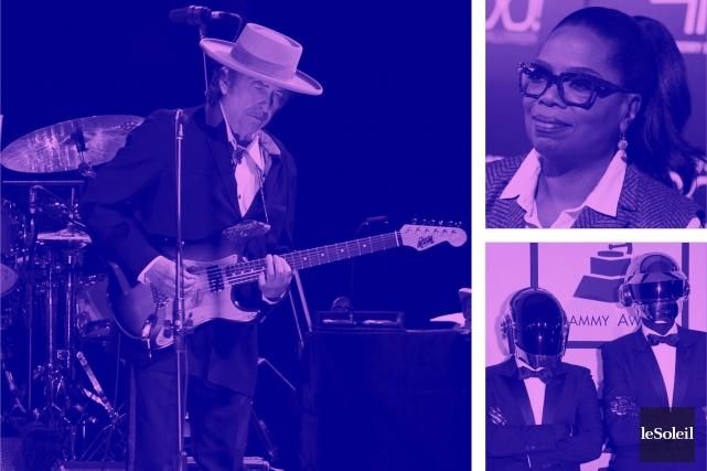Triple album de reprises de Sinatra pour Dylan (Infographie Le Soleil)