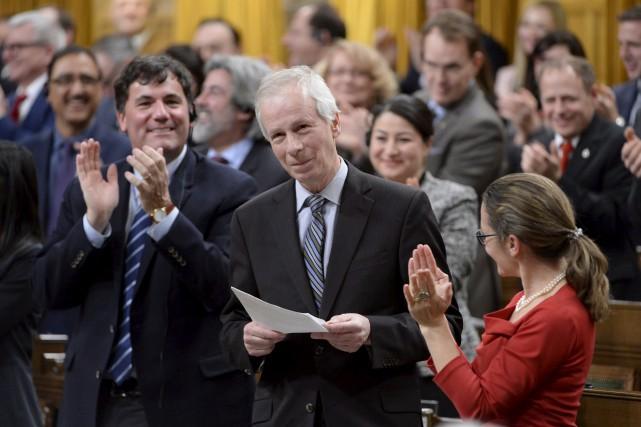 Le député sortant de Saint-Laurent, Stéphane Dion, a... (La Presse canadienne, Adrian Wyld)