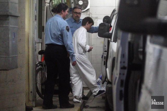 Alexandre Bissonnette est accusé de six meurtres prémédités... (La Presse, Martin Chamberland)