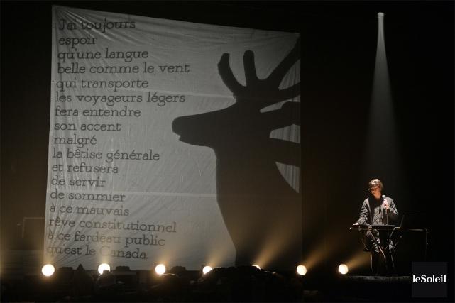 «On joue à Québec et il y a... (Photo Érick Labbé, Le Soleil)